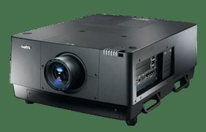 Der Sanyo PLC-HF15000L 2K LCD 15.000 ANSI Lumen Hochleistungsprojektor ist in Kombination mit Gain 26 Hellraumleinwänden als Tageslicht-Projektor verwendbar.